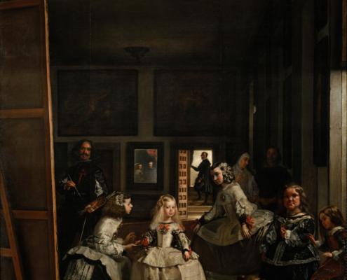 Diego Velázquez / Las Meninas - Die Hoffräulein / 1656