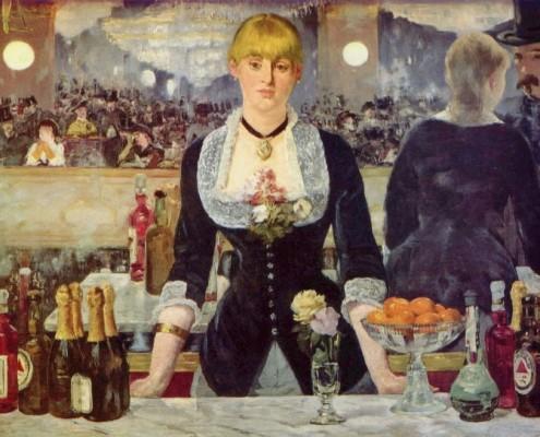 Édouard Manet / Bar in den Folies-Bergère / 1881-1882