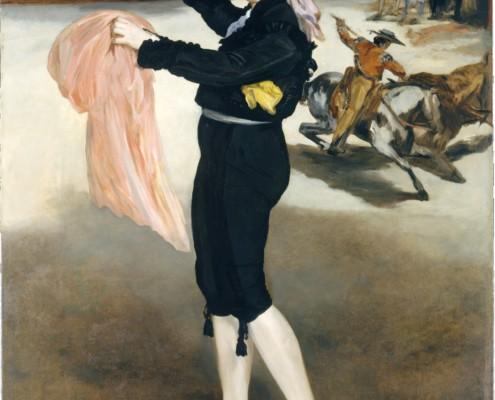 Édouard Manet / Victorine Meurent im Kostüm einer Stierkämpferin / 1862