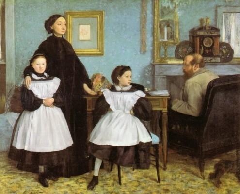 Edgar Degas / Die Familie Bellelli / 1858-1867