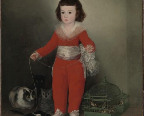 Francisco de Goya / Manuel Osorio Manrique de Zuñiga / 1787-1788