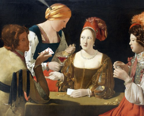 Georges de la Tour / Der Falschspieler mit Karo-Ass / 1635