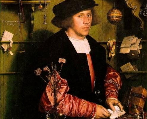 Hans Holbein der Jüngere / Porträt von Georg Gisze / 1532
