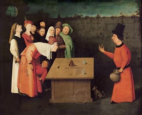 Hieronymus Bosch / Der Gaukler / 1475-1505