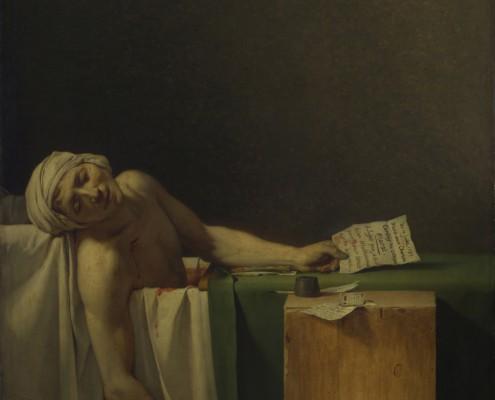 Jacques-Louis David / Der Tod des Marat / 1793