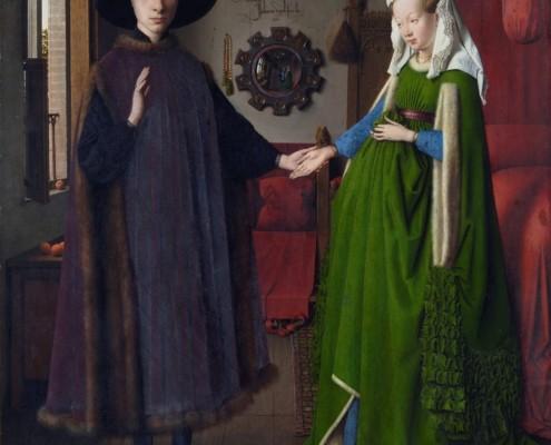 Jan van Eyck / Arnolfini-Hochzeit / 1434