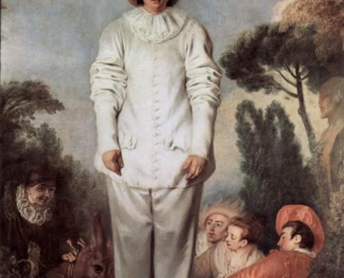 Jean-Antoine Watteau / Gilles / 1718-1719