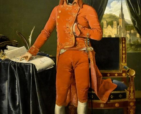 Jean-Auguste-Dominique Ingres / Bonaparte, Erster Konsul / 1803-1804