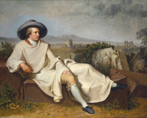 Johann Heinrich Wilhelm Tischbein / Goethe in der Campagna / 1787