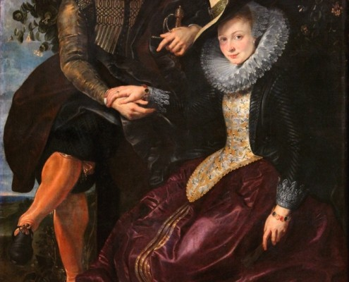 Peter Paul Rubens / Peter Paul Rubens mit seiner Frau Isabella / um 1609