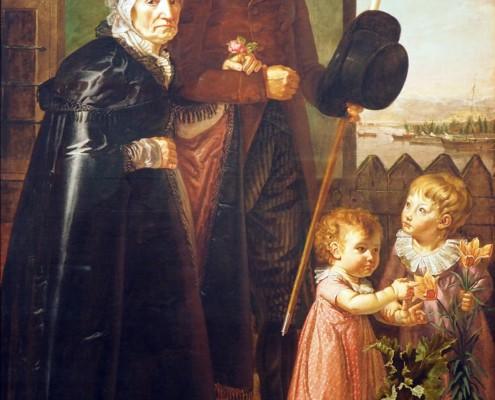 Philipp Otto Runge / Die Eltern des Künstlers / 1806