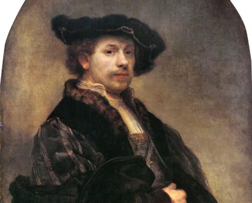 Rembrandt van Rijn / Selbstporträt / 1640