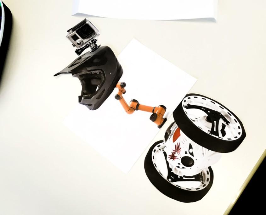 THE ROBOTS ARE COMING - Roboter-Collagen im Kunstunterricht - Arbeitsprozess