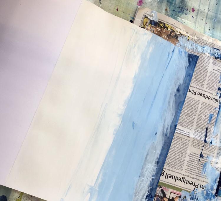 """SCHWEBEN WIE GALA DALÌ SURREALE BILDWELTEN IM STILE SALVADOR DALÌS """"DIE MADONNA VON PORT LLIGAT"""" - Malerei"""